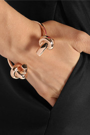Jennifer Fisher Double Knot rose gold-plated cuff