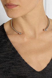 Jennifer Fisher Ball silver-plated choker