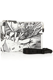 McQ Alexander McQueen Manga printed leather shoulder bag