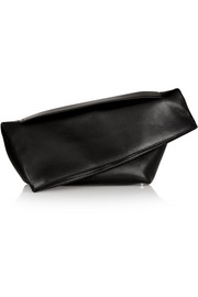 Jil Sander Large leather clutch