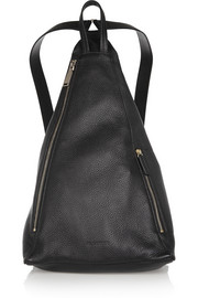 Jil Sander Textured-leather backpack