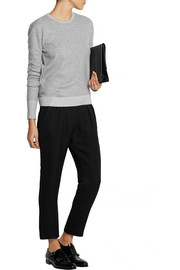Studio Nicholson Cropped jacquard tapered pants