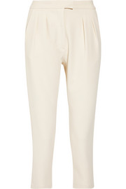 Studio Nicholson Cropped crepe tapered pants