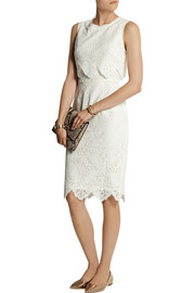 SEA Cotton-blend lace dress