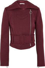 Carven Cropped gabardine jacket