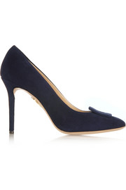 Catherine suede pumps