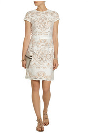 Collette by Collette Dinnigan Knitted lace dress