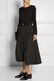 Marni Ruched shell midi skirt