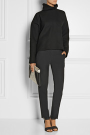 Marni Double-faced wool-blend turtleneck top