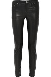 BLK DNM Leather skinny pants