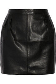 20 leather mini skirt