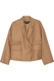 Rochas Oversized wool-blend jacket