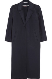 Rochas Oversized wool and angora-blend coat