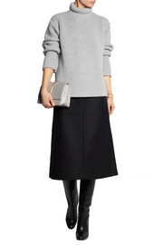 Rochas Ribbed wool and angora-blend sweater