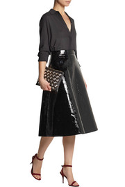 Rochas Patent-leather skirt