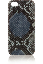 The Case Factory Snake-effect leather iPhone 5 case