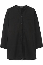 TOME Oversized cotton-poplin shirt
