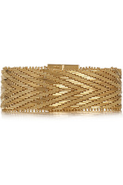 Givenchy Woven bracelet in gold-tone brass