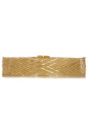 Givenchy Woven choker in gold-tone brass