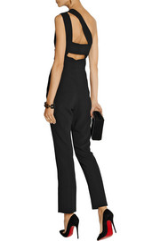 Roland Mouret Nortoni stretch-crepe jumpsuit