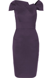Roland Mouret Lepas stretch wool-blend crepe dress