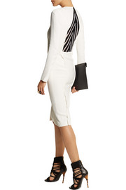 Roland Mouret Aculops stretch-crepe dress