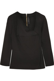 Roland Mouret Mayfly stretch-crepe top
