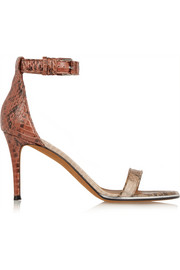 Givenchy Nadia sandals in elaphe