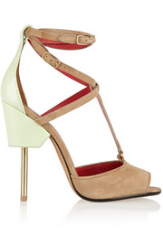 Givenchy Marzia suede and leather sandals