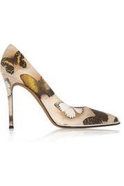 Givenchy Lia pumps in butterfly-print leather