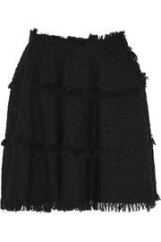 Lanvin Wool-blend bouclé-tweed skirt