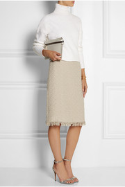 Lanvin Wool-blend bouclé-tweed pencil skirt