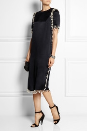 Lanvin Embellished satin dress