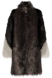 Lanvin Faux fur coat