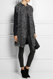 Lanvin Bouclé-tweed and wool-blend cardi-coat