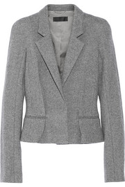 Haider Ackermann Knitted wool-blend blazer