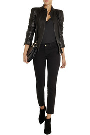 Haider Ackermann Leather biker jacket