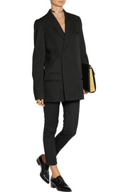 Haider Ackermann Oversized wool and cotton-blend twill blazer