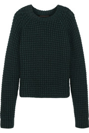 Haider Ackermann Chunky-knit wool-blend sweater