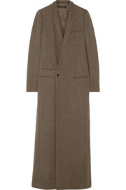 Haider Ackermann Wool-blend floor-length coat
