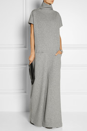 Haider Ackermann Oversized wool-blend turtleneck jumpsuit