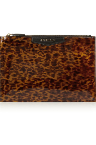 eeeceb896a Givenchy. Antigona pouch in leopard-print ...