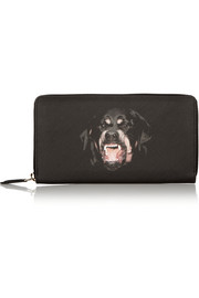 Givenchy Rottweiler wallet in coated-canvas