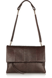 Lanvin Sugar python shoulder bag