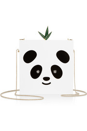Bao Bao Perspex box clutch