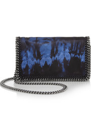 Stella McCartney The Falabella tie-dyed satin shoulder bag