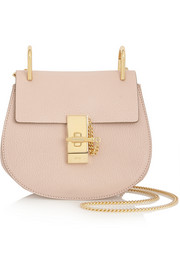 Chloé Drew small grained-leather shoulder bag