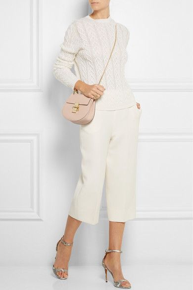 Chlo¨¦ | Drew small grained-leather shoulder bag | NET-A-PORTER.COM