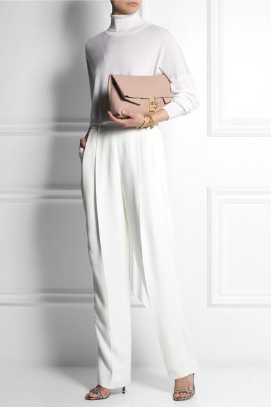 chloe elsie shoulder bag medium - Chlo�� | Drew textured-leather clutch | NET-A-PORTER.COM