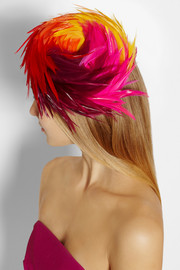 Piers Atkinson Cruise feather-embellished felt hat